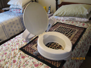 Elongated Toilet Seat Risers