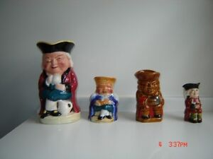 Antique Toby Jugs - $40 for all London Ontario image 1