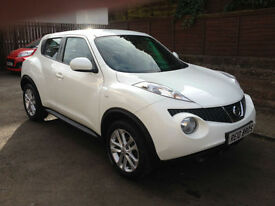 2013 (13) Nissan Juke 1.6 16v Acenta 5 Door Hatchback Petrol Manual