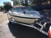 GREAT DEAL! 1998 18ft MALIBU WITH BRAVO 3 LEG AND DUAL PROP