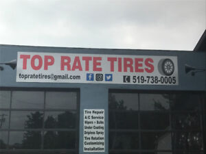 Top Rate, You're Partner In Tire Service