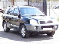 Hyundai Santa Fe 2.0CRTD CDX, Black, 2006, 6 Months AA Warranty