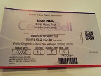 Madonna Montréal - 10 Septembre - section 119-E