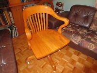 antique office chair