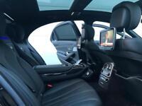 "2015 15 Mercedes-Benz S63 L AMG 5.5 585bhp + BLACK STYLING + 3x TVs + 22"" ALLOYS"