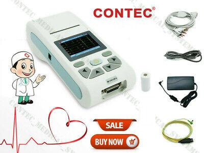 Ecg90a Contec 12-channel Ecgekg Machine Electrocardiograph Pc Software Touch