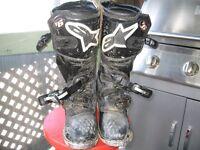botte motocross Alpine star