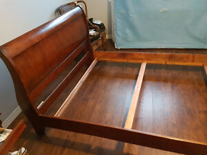 Queen Bed frame & box spring