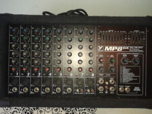Yorkville Powered Mixer MP8DX