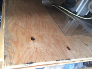"""5x 3/4""""x 4'x8' spruce tounge and groove plywood"""