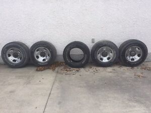 5 Truck Tires With Rims