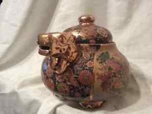 Satsuma Japanese teapot Cambridge Kitchener Area image 5