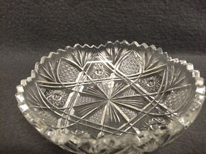 Collectible Antique Crystal Candy Dish London Ontario image 2