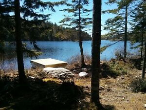 Last waterfront lot for sale on McBeth Lake (off grid)