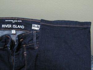 Men's River Island Stretch Skinny Jeans 30 x 32 London Ontario image 2