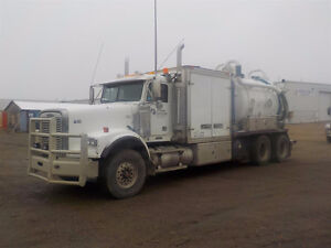 2007 Freightliner 122SD Combo Vacuum Truck UP FOR AUCTION