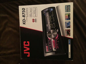 jvc multi colour aftermarket head unit London Ontario image 1