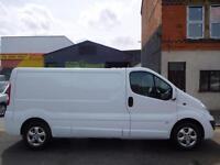 Finance Available & NO VAT! Vauxhall Vivaro 2.0CDTi LWB sportive panel van (14)