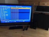 """Sony Bravia 40"""" LCD TV & Home Cinema System"""