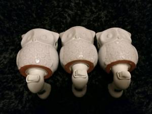 OWL WALL WAX WARMERS (3)