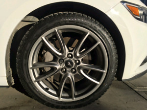 """Ford Mustang Winter Wheels and Tires 19"""""""