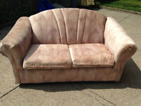 2 piece set loveseat and chair