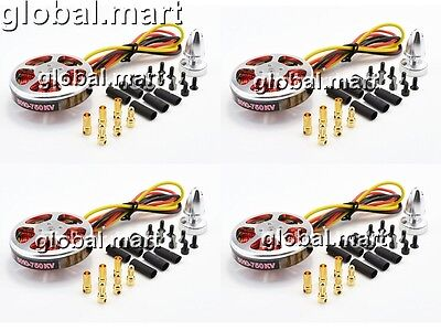 4PCS 5010 750kv Brushless Great Torque Motors Multi-Axis Aircraft Quadcopte M12A
