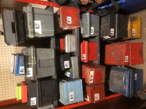 Tool Boxes $1-$5 each & LOTS OF TOOLS FOR SALE!!!