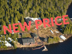 Osprey Lake Lodge, Labrador is for sale