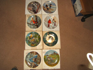 Bradford Exchange Collector plates Birds of North America