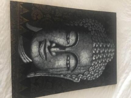 Indonesian wall art Buddha image | Art | Gumtree Australia ...