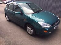 Ford Focus ghia trade in to clear
