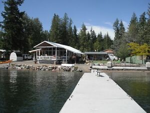 Beachfront Cabin in Scotch Creek, Shuswap Lake, BC