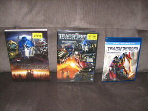 Transformers DVDs/Bluray for Sale