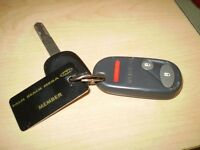 Honda key and fob in bowmanville .It has a palm beach mega tan