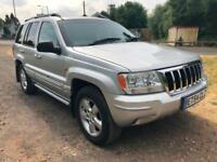2005 05 JEEP GRAND CHEROKEE 4.7 V8 AUTO LIMITED LOW 103K NO ADVISORIES PX SWAPS