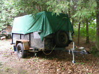 (SOLD PENDING PICK UP)  Utility Trailer, 4 x 8