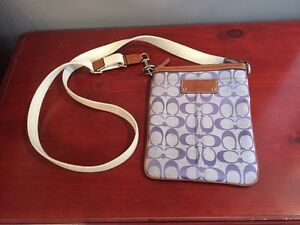 Coach classic cross body purse