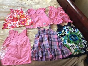 Baby girl/toddler dresses shirt 6M-3T