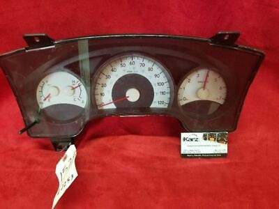 Speedometer Cluster MPH From 8/05 Fits 06 MITSUBISHI RAIDER 2253