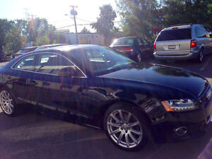 2010 Audi A5 Coupe (2 door), AWD, Black on Black, MINT Condition