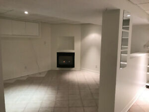 Large 2 Bedroom Basement Apartment In House For Rent.