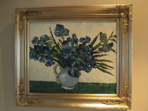 CHIC Post-Impressionists - huile sur toile - painting oil on can