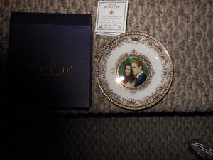 New in Box Royal Worcester Royal Wedding Small Round Tray