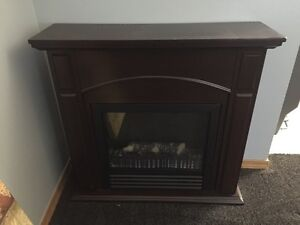 Price reduced....Electric fireplace