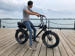 Fat Tire E-Bike *NO LICENSE REQUIRED*
