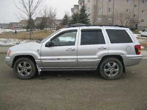 2004 Jeep Grand Cherokee Overland, ONLY 108,000KMS