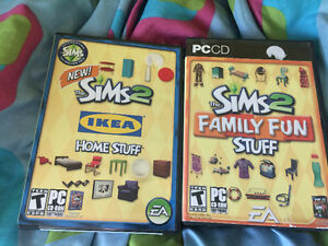 Sims2 PC Games - 2 CD Games