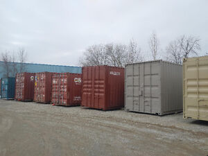 Gently used 20ft and 40ft steel sea containers for storage London Ontario image 11
