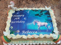 Edible Images for Cakes, Cupcakes, Cookies & More!